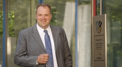 Landrat Christoph Göbel